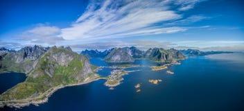 Lofoten panorama Royalty Free Stock Photography