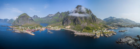 Lofoten panorama Royalty Free Stock Photos