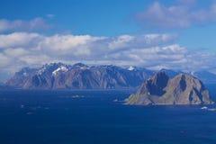 Lofoten panorama Stock Photo