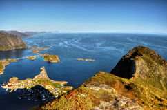 Lofoten Islands, Landscape Norway  Stock Image
