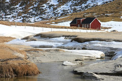 Lofoten S Farm Of Haukland Stock Images