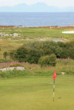 The Lofoten's golf court Stock Photos