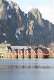 Lofoten's houses Stock Photo