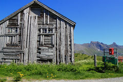 Lofoten's Post office royalty free stock images