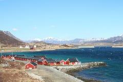Lofoten's village of Skreda Stock Photos