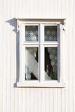 Lofoten's white window Stock Photography
