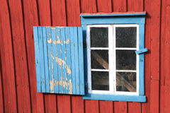 Lofoten's window in A Stock Image