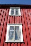 Lofoten's windows Royalty Free Stock Photo