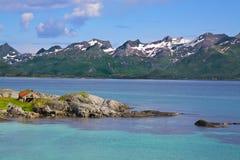 Lofoten scenery. Picturesque scenery on Lofoten Islands, Norway Stock Photography