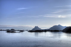 Lofoten seascape Royalty Free Stock Photos