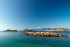 lofoten seascape Zdjęcie Stock