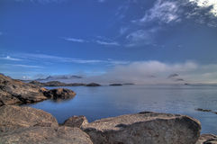 Lofoten seascape Royalty Free Stock Photo