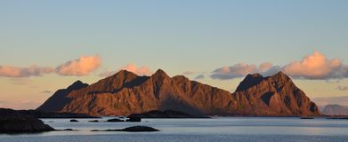 Lofoten Svolvaer Royalty Free Stock Photo