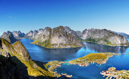 Lofoten Islands Royalty Free Stock Photography