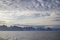 Lofoten wall Royalty Free Stock Photos