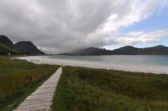 Lofoten Wyspy, Norwegia Zdjęcie Royalty Free