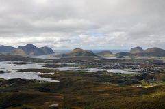 Lofoten Wyspy, Norwegia Obraz Royalty Free