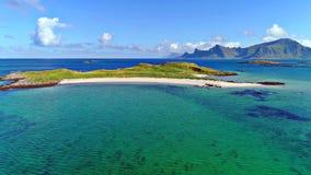 Lofoten wyspy są archipelagiem w okręgu administracyjnym Nordland, Norwegia obraz stock