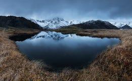 Lofotenfjord, Noorwegen Royalty-vrije Stock Afbeeldingen