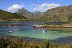 Lofotenlandschappen Royalty-vrije Stock Foto's