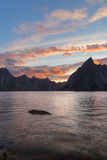 Lofotens öar, Norge Royaltyfri Fotografi