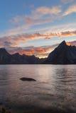 Lofotens wyspy, Norwegia Fotografia Royalty Free