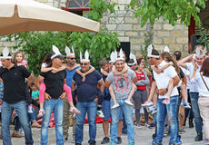 Lofou wioska w Limassol obrazy royalty free