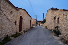 Lofou in Zypern Lizenzfreie Stockfotos