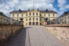 Lofstad城堡,瑞典 库存照片