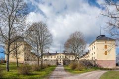 Lofstad城堡,瑞典 库存图片
