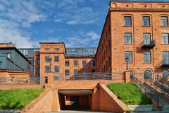 Loft Aparts - Architecture of the city of Lodz Royalty Free Stock Photo