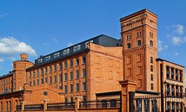 Loft Aparts in Lodz,Poland Stock Photography
