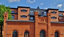 Loft Aparts in Lodz,Poland Royalty Free Stock Photography