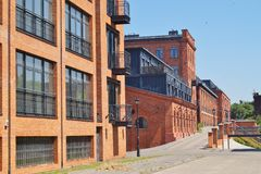 Loft Aparts in Lodz,Poland Stock Images