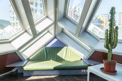 Loft av ett kubhus i Rotterdam Royaltyfri Fotografi