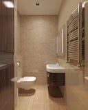 Loft bathroom Royalty Free Stock Photo