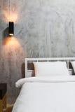 Loft bedroom Royalty Free Stock Photo