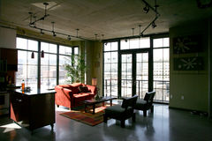 Loft Condo Royalty Free Stock Photos