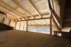 Loft construction Royalty Free Stock Image