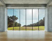 Loft in the country Royalty Free Stock Photography
