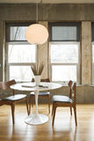 Loft Dining Room Royalty Free Stock Image