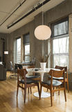 Loft Dining Room stock images