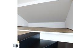 Loft duplex, stairs Stock Photos