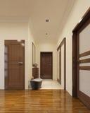Loft hallway interior Royalty Free Stock Image