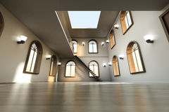 Loft Interior Royalty Free Stock Images