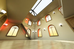 Loft Interior Stock Photography