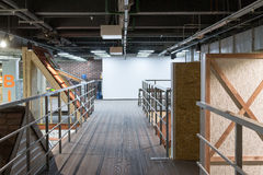 Loft Interior and Railings Stock Photo