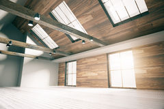 Loft interior side Stock Photography