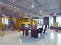 Loft office Stock Image