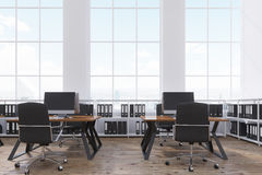 Loft open office interior Stock Photo